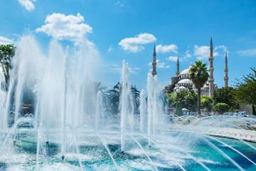 Blue mosque, Sultanahmet in Istanbul Turkey