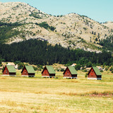 ecotourism in mountains(Montenegro) poster