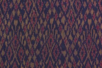 Generally Thai silk weaving textile pattern.