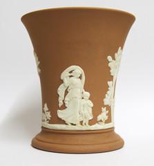 Jasperware Terracotta Vase
