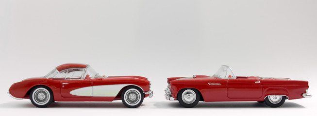Red American Classic Sports Cars