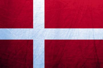 Ice Flag of Denmark