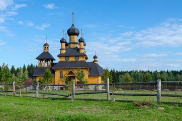 Belarus, Dudutki. Church of the Holy Prophet John the Baptist