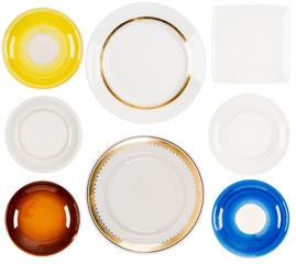 Set of  ceramic plates