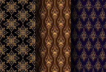 Thai art Style Pattern