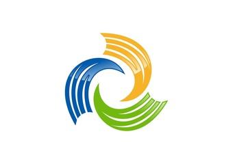 wings,logo,elements,stripe,beauty,wave,sphere,connection