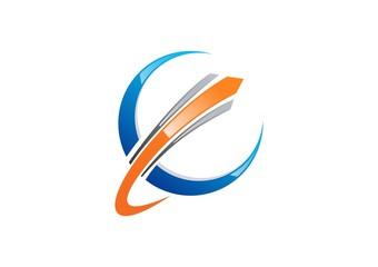 connection,circle,logo,stripe,globe,c,e,communication,sphere