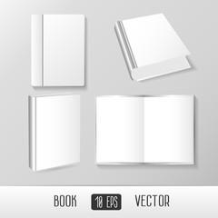Vector  Books Mockup Templates