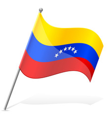 flag of Venezuela vector illustration