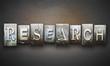 Research Concept Letterpress - 70205373