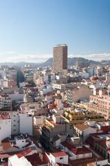 Cityscape of Alicante