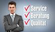 Service Qualität Beratung