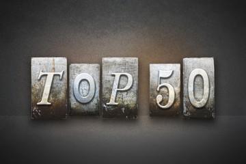 Top 50 Letterpress