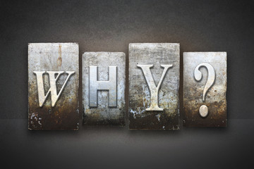 Why? Letterpress