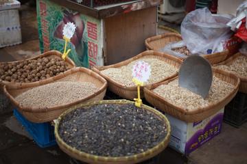 Nüsse in China