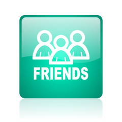 friends internet icon