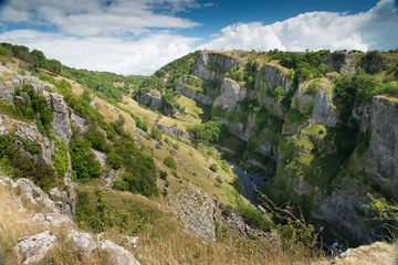 Cheddar Gorge, Somerset, UK