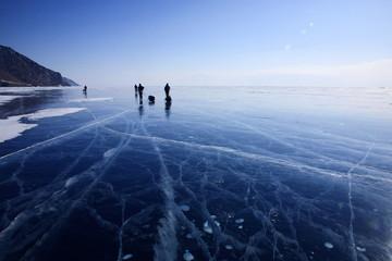 Travelers on Baikal
