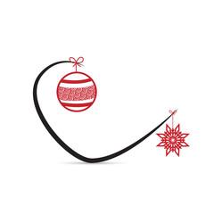 Courbe - déco Noël