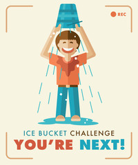 Ice Bucket Challenge. You're next!
