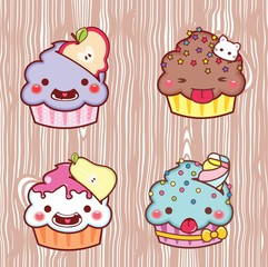 cartoon cupcake 28