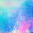 Blue colorful abstract pastel background