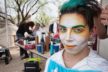 Handsome Male Cirque Actor
