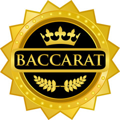 Baccarat Gold Badge