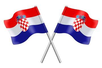 Flags of Croatia