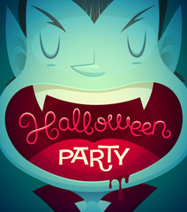 Halloween poster \ background \ card. Vector illustration.