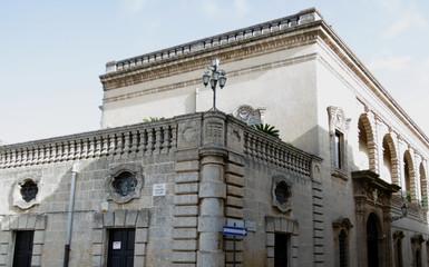 palazzo storico a presicce