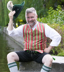 portrait of a bavarian man