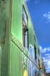 canvas print picture - Eisenbahn Waggon