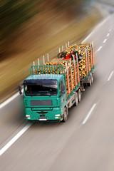 Forstwirtschaft - Holz Transport