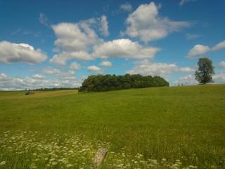 Rural Samogitian plains