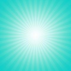 Cyan starburst effect background