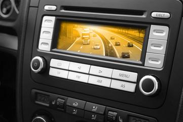 Navigator im Auto