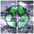 Leinwanddruck Bild - Ökologische Wiederverwertung