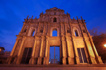 Ruins of St. Paul's Macau China