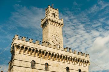 Torre civica di Muntepulciano - Toscana