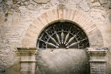 Portale - San Quirico d'Orcia