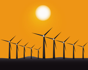windmills to generate energy
