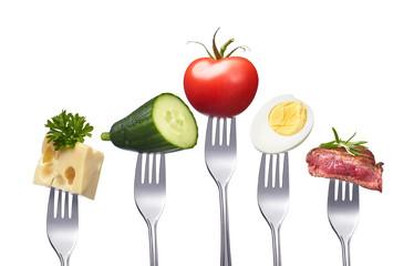 Desunde, ausgewogene Ernährung