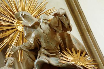 God the creator sculpture 2
