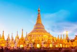 Shwedagon pagoda in Yagon, Myanmar