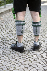 legs of bavarian man