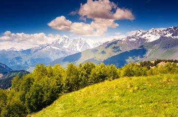 mountain landscape of georgia