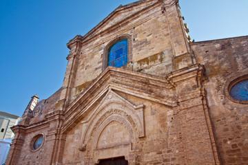 Grottole, chiesa di Santa Maria Maggiore. Basilicata. Italy