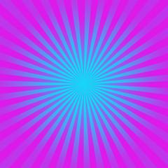 Purple and blue starburst  background