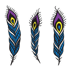 Peacock Feather set.